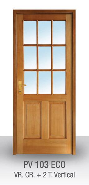 Fadabi fabrica de aberturas de madera puertas ventanas for Puertas en madera y vidrio