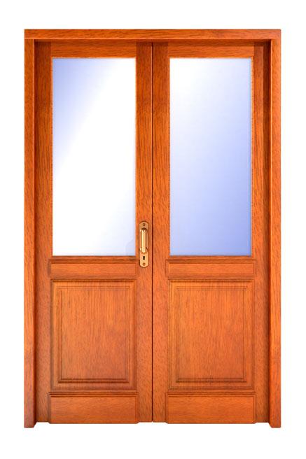 Puertas para ba o rosario for Puertas interiores antiguas madera