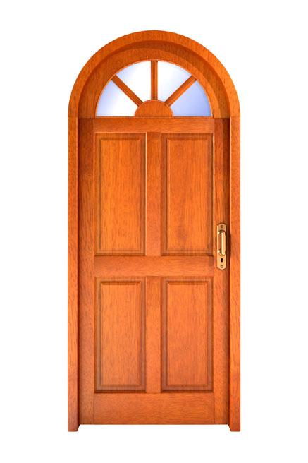 Image gallery puerta for Puertas de madera para exterior
