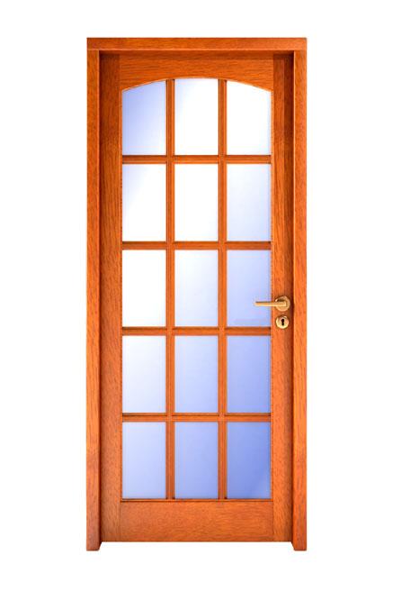 Fadabi fabrica de aberturas de madera puertas ventanas for Puertas interiores de madera con vidrio